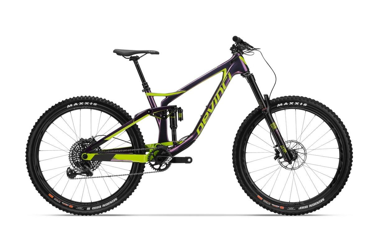 Spartan 2018 Carbon Purple-Green