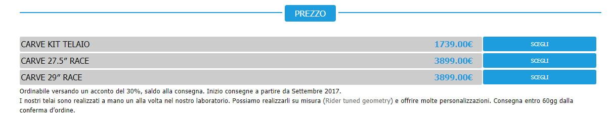new-carve-prezzo