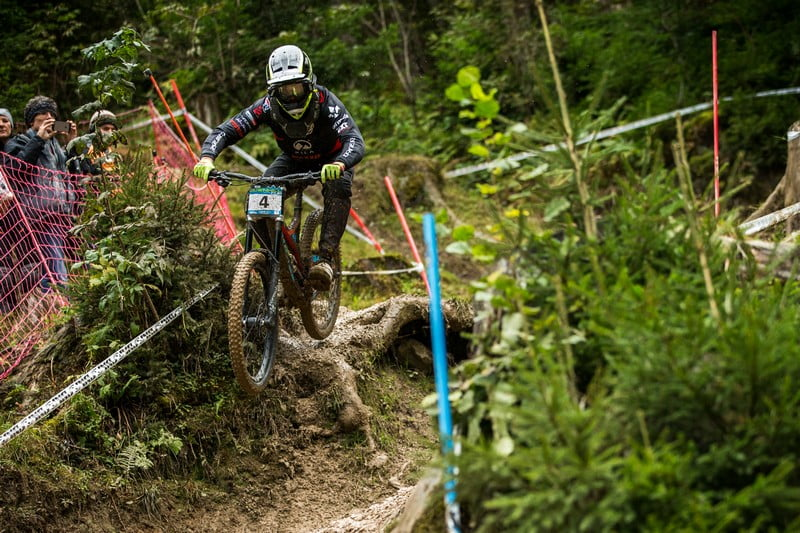 Loris Revelli went fastest today and will be last man on the hill on race day.