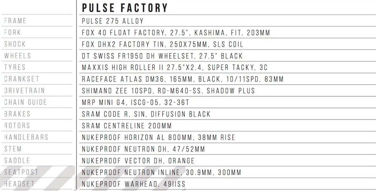 pulse-factory-spec