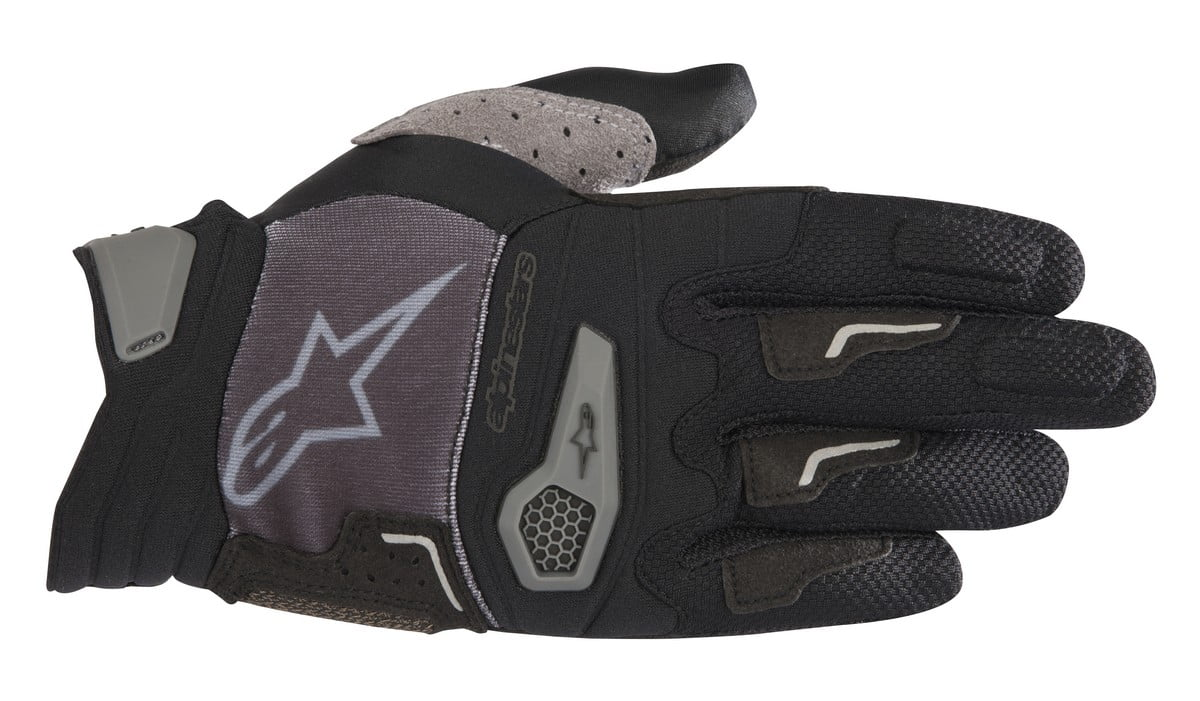 1566518_067_DROP PRO glove_BlackGray
