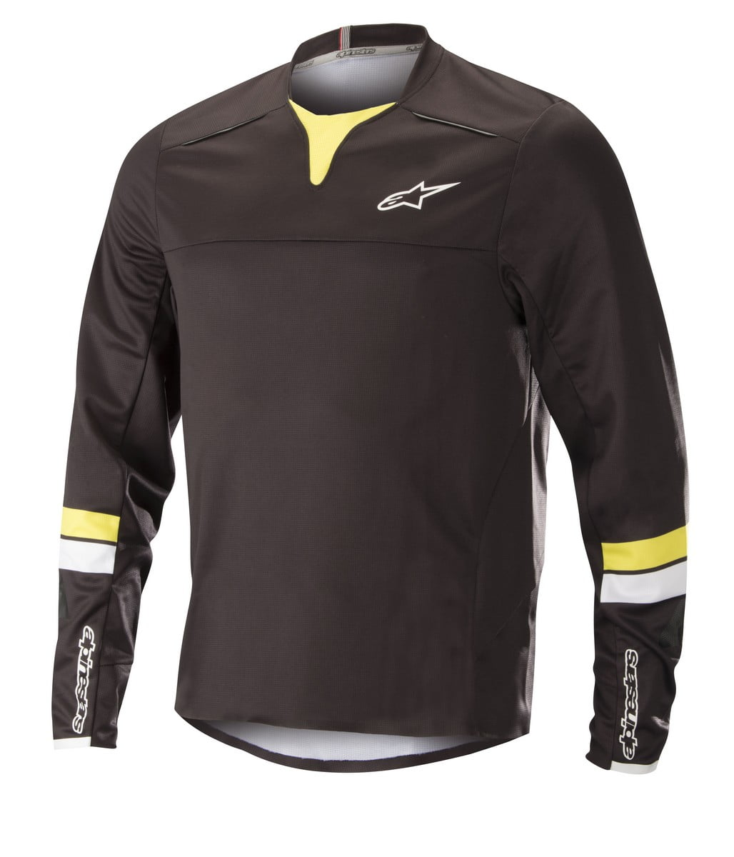 1766518_1047_DROP PRO LS Jersey_BlackAcidYellow
