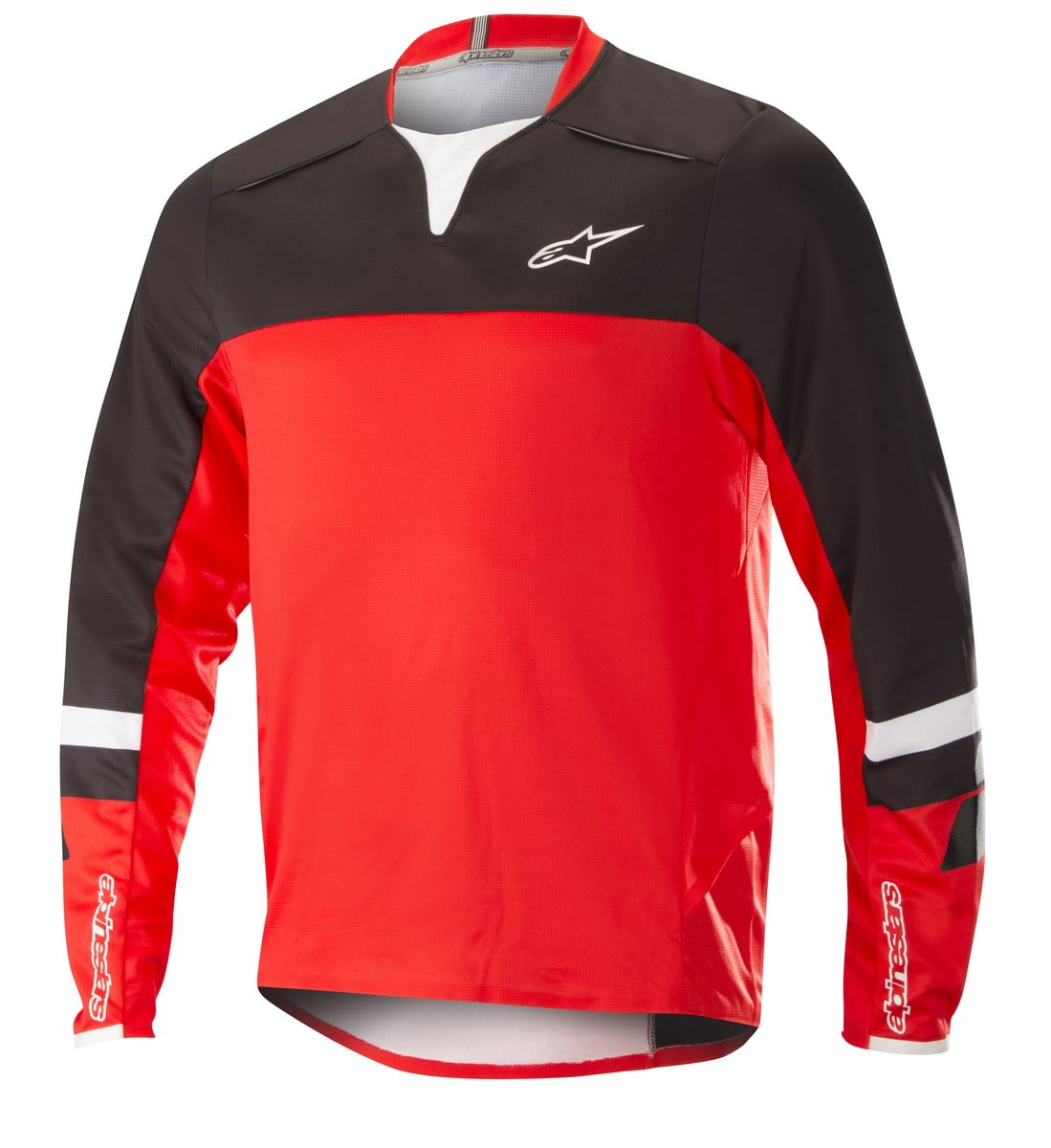1766518_13_DROP PRO LS Jersey_BlackRed