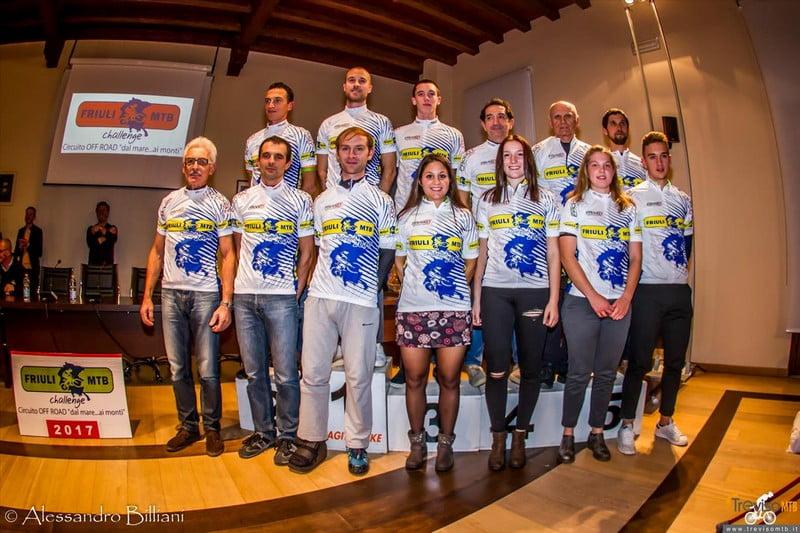 Campioni Friuli Mtb Challenge edizione 2017