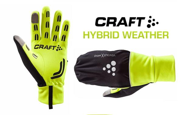 nuova collezione bellezza Saldi 2019 I guanti invernali Craft Hybrid Weather - MTB-VCO.com ...