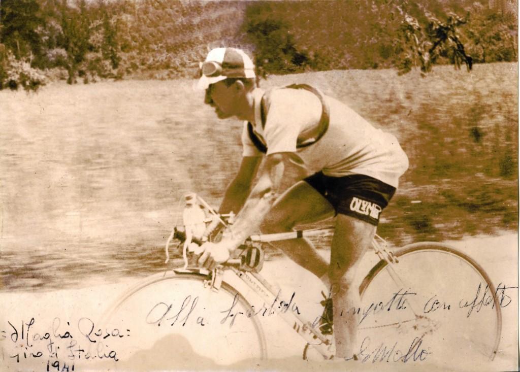 Olympia Enrico Mollo autographed
