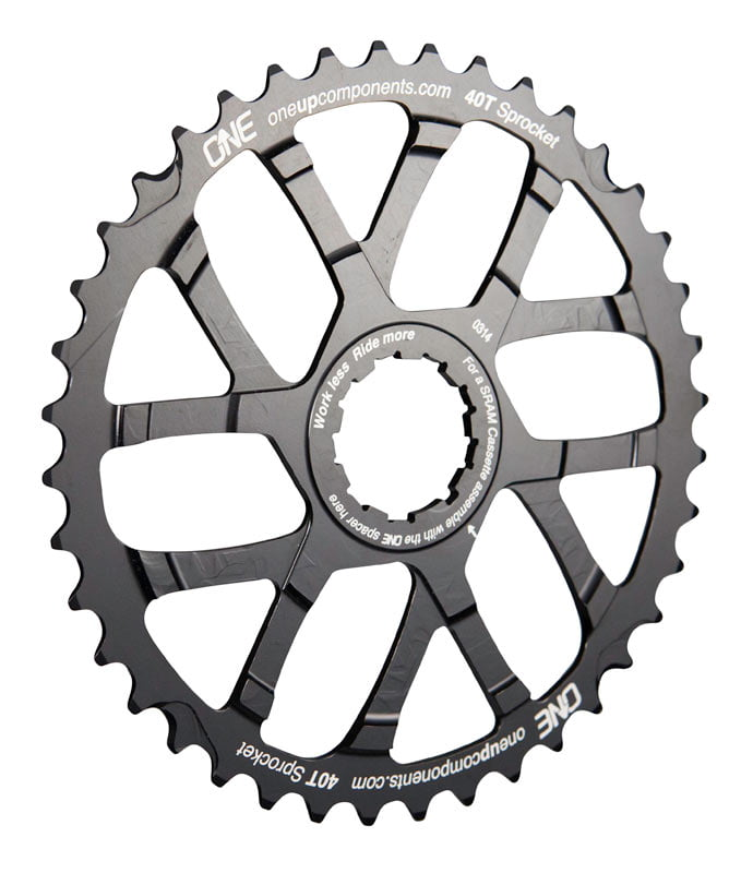 OneUp_Components_40T_Sprocket_Black_Iso1
