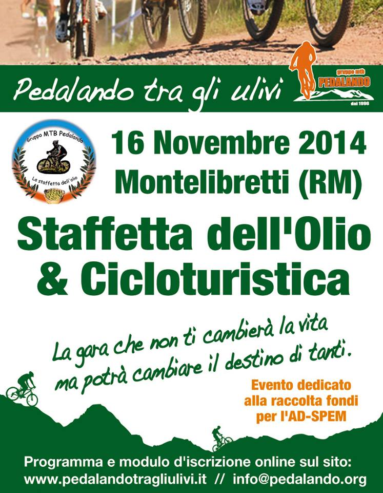 Locandina Staffetta Mtb Olio 2014