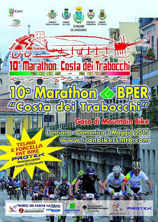 Locandina Marathon Bper Costa dei Trabocchi 2015