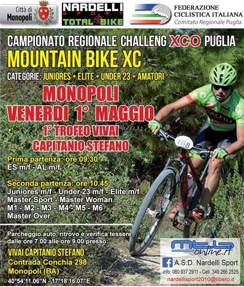 Locandina cross country monopoli 2015