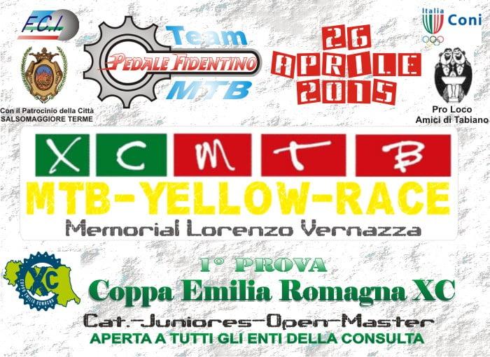 Volantino MTB Yellow Race