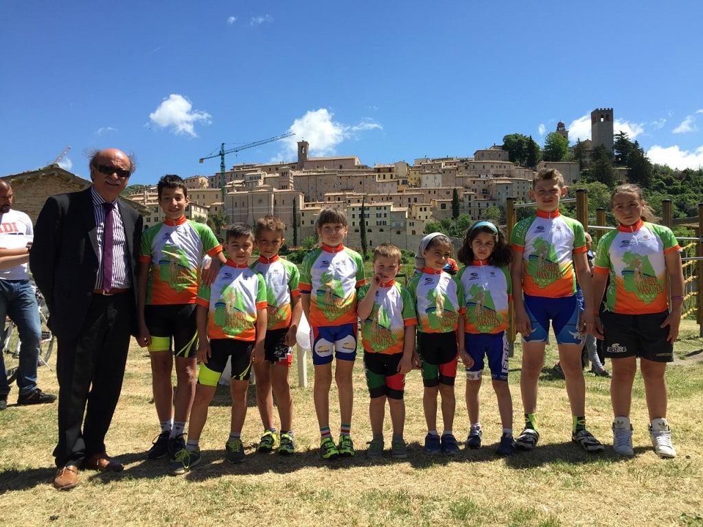 Nocera Umbra 2015 i baby bikers Mini Umbria Marathon