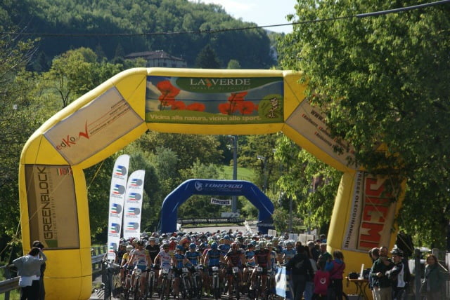 Partenza Montagnana MTB Gold Race