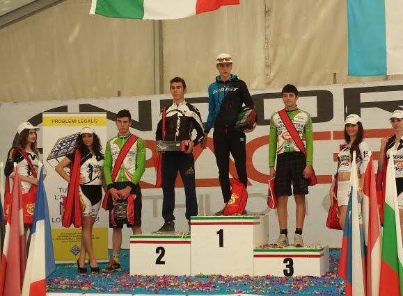 gf andora bike podio junior - Ferrigno 1°