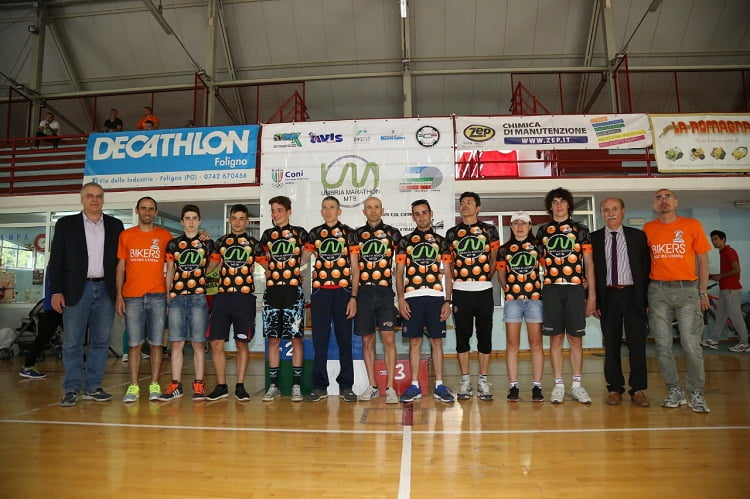 Nocera Umbra 2015 i leader Pissei  Umbria Marathon