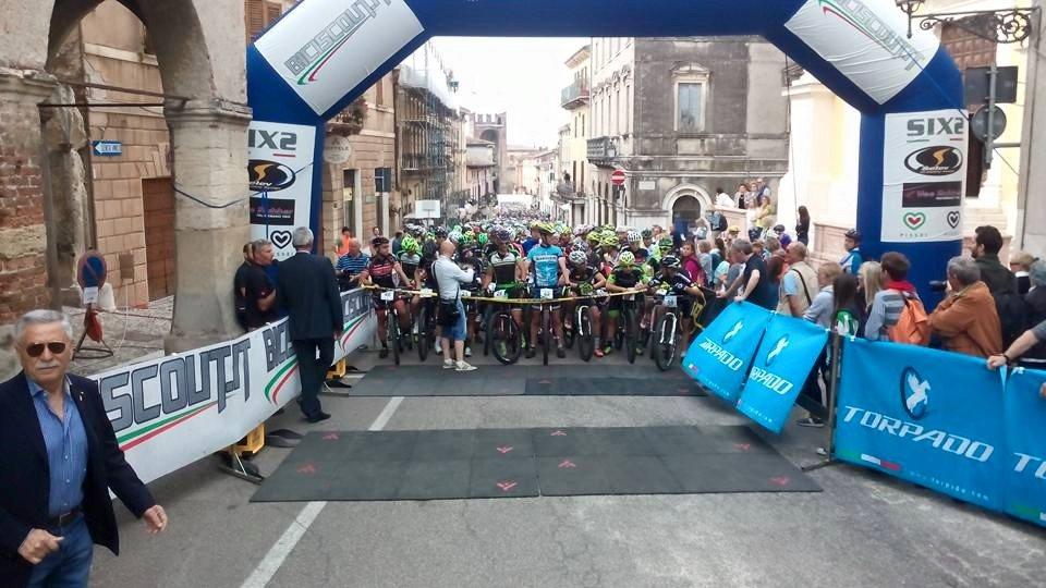 Partenza Soave Bike 2015