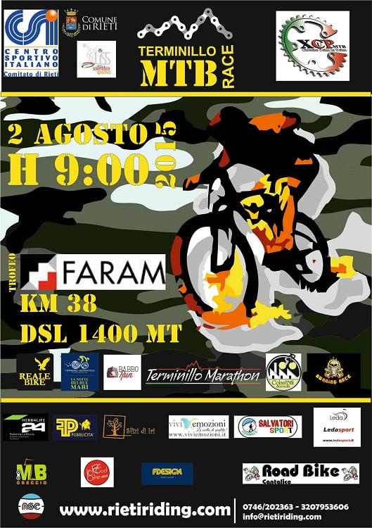 Locandina Terminillo Mtb Race 2015