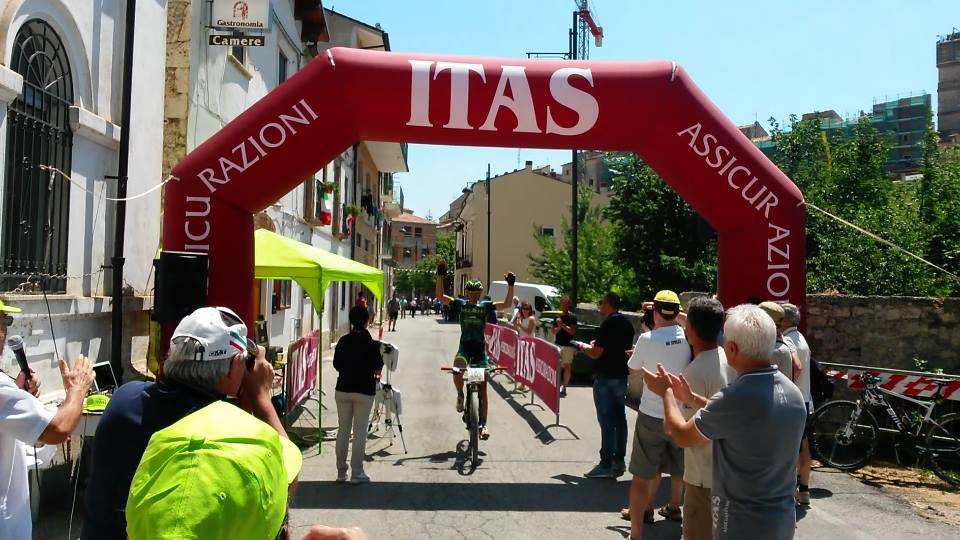 Marathon Parco Gran Sasso 2015 arrivo D'Aurora