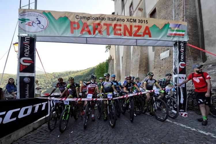 Marathon dei Colli Albani-La Via Sacra 2015 partenza point to point