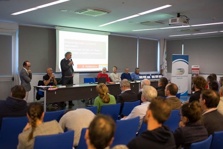 Il tavolo con i Ct azzurri ph Michele Mondini
