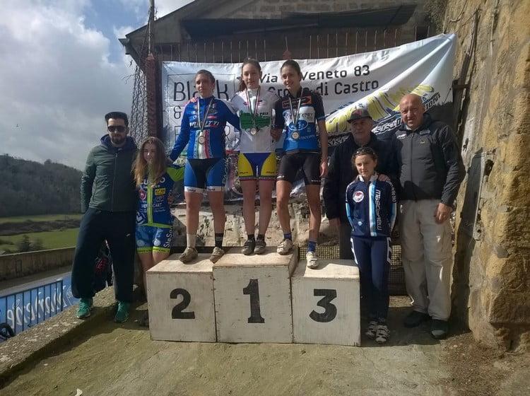 Memorial Zannoni-Bordo 2016 podio allieve donne 1anno
