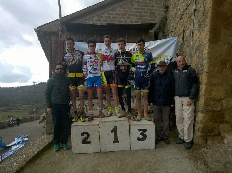Memorial Zannoni-Bordo 2016 podio allievi 2anno