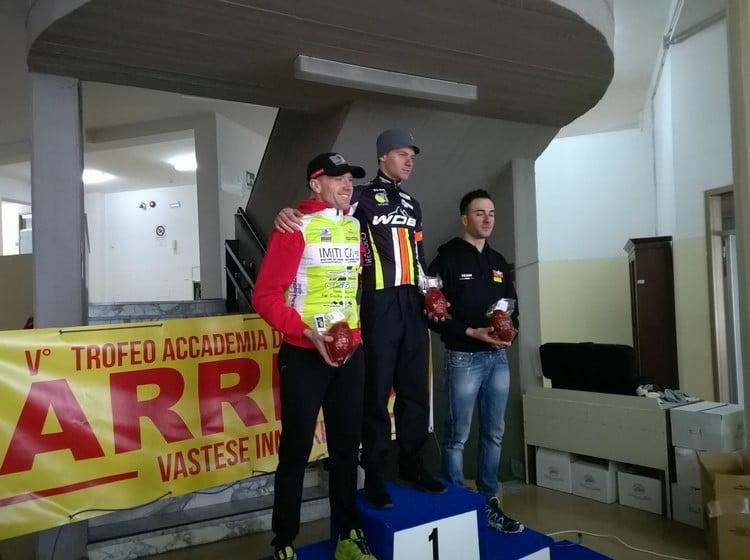 Trofeo Accademia Ventricina 2016 podio maschile