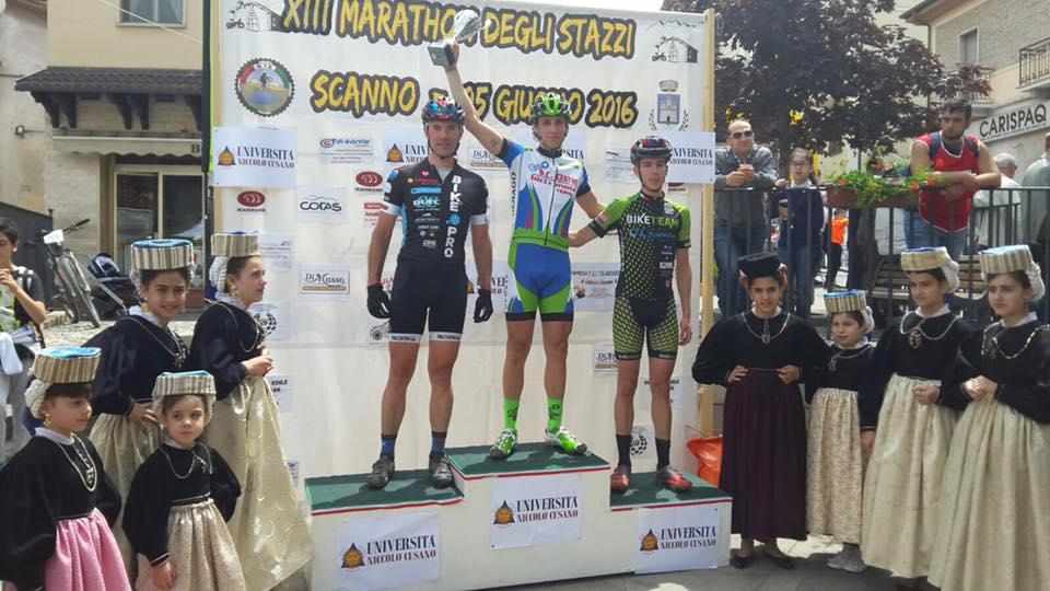 Marathon degli Stazzi 2016 podio-classic