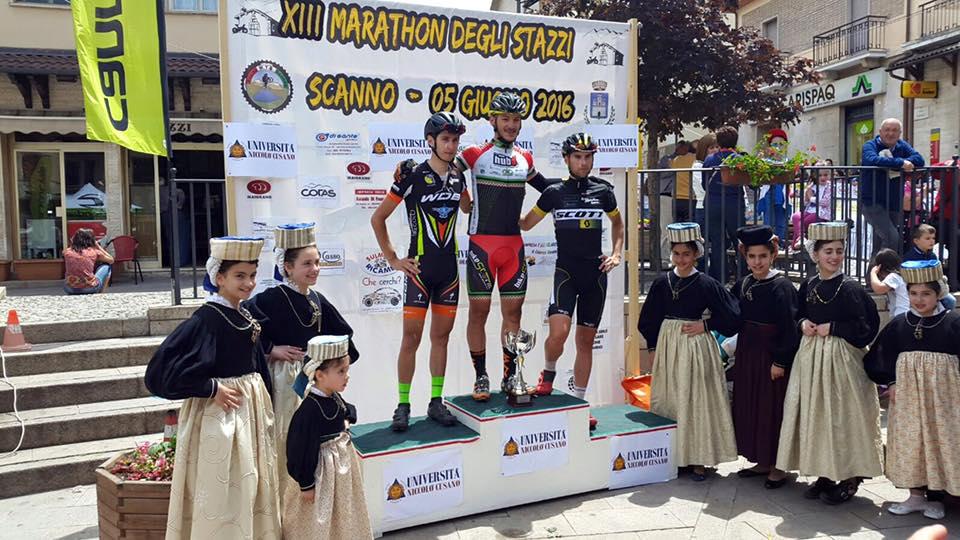 Marathon degli Stazzi 2016 podio-marathon