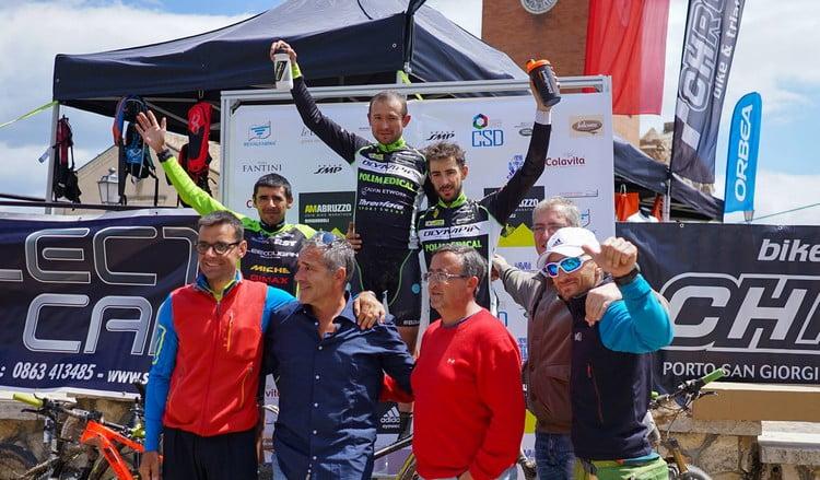 AmAbruzzo Bike Marathon 2016 podio Paez (2)