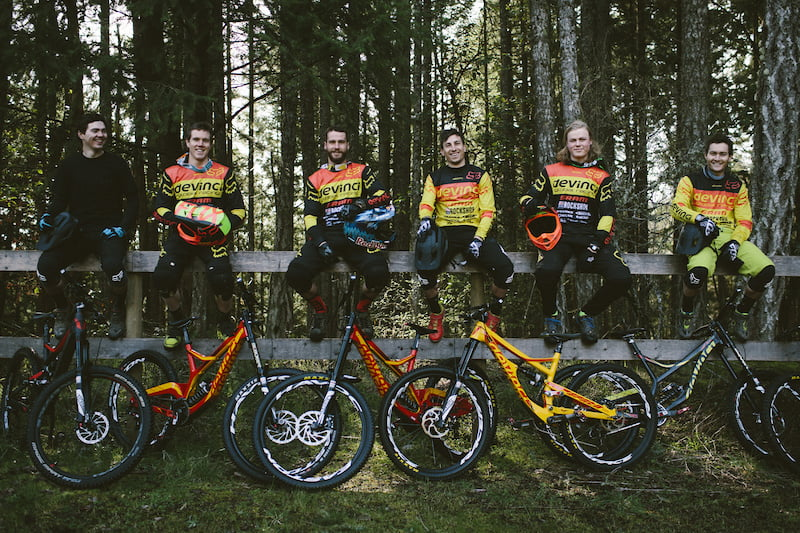 Devinci team camp in Duncan, BC, 2016.