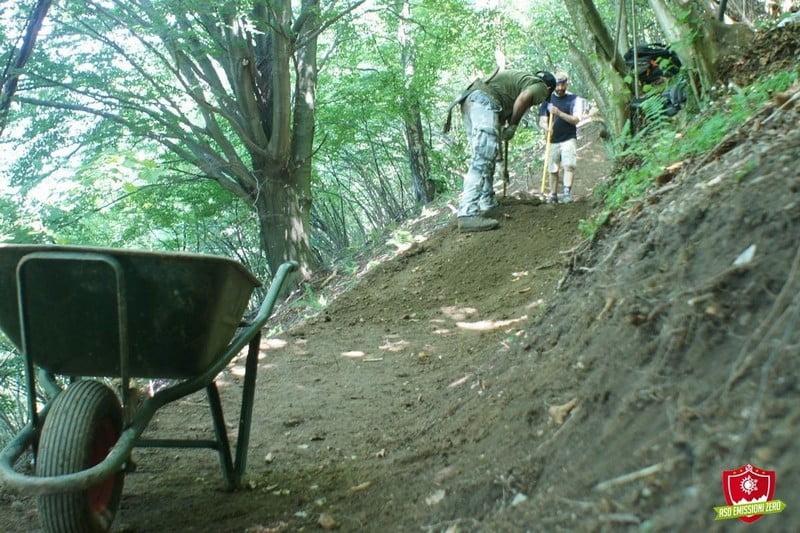 trail building asd emissioni zero