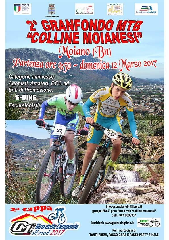 Granfondo Colline Moianesi 12mar2017 locandina