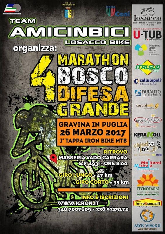 Marathon Bosco Difesa Grande 26032017 locandina
