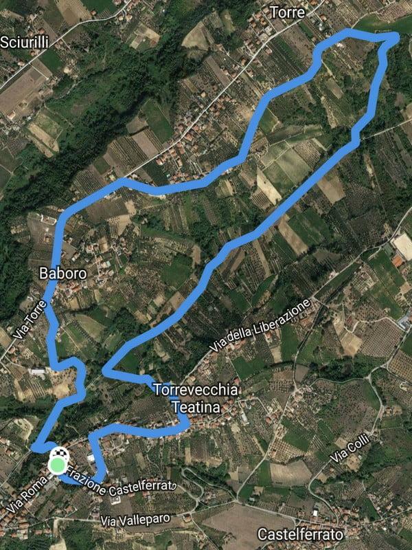 Trofeo Bikepro-Cantina Sincarpa 12mar2017 planimetria