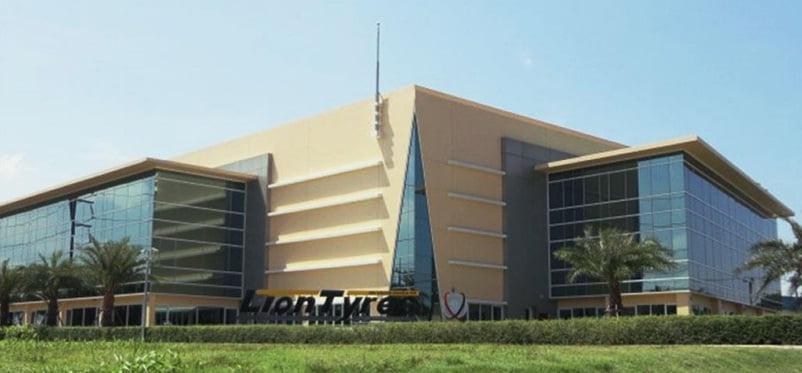 Centro di Eccellenza Vittoria, presso Lion Tyres Thailand