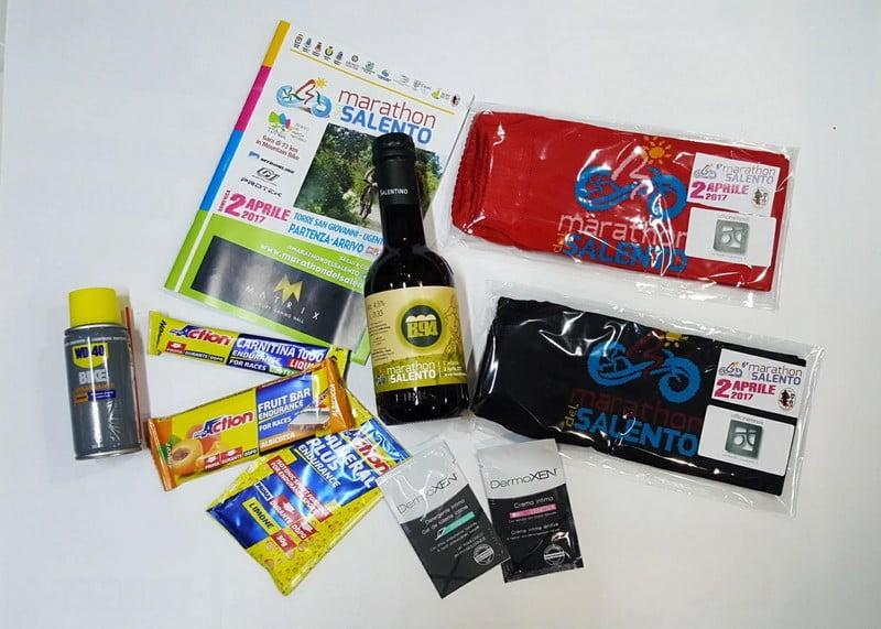 Marathon del Salento 02042017 pacco gara