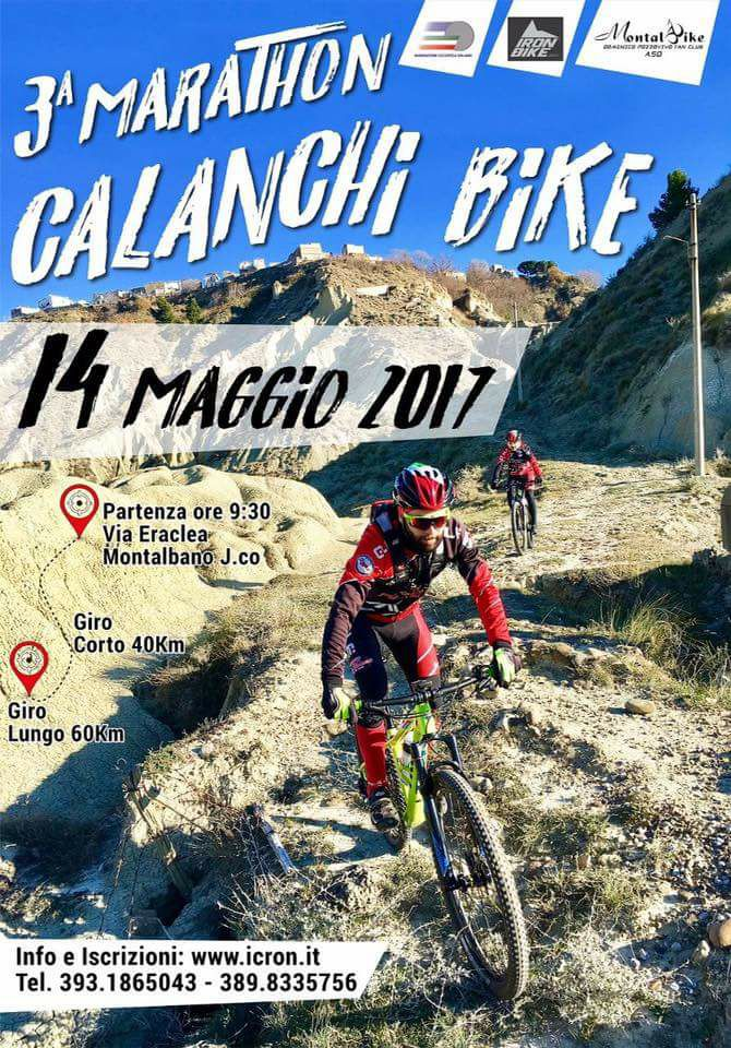 Calanchi Bike Marathon 14052017 locandina