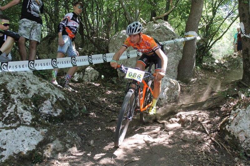 Cross Country Città di Mentana 280502017 gara open Antonio Folcarelli