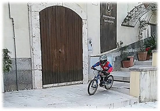 Andrea Cioffi, il più giovane Downhiller Campano ed Apripista della Down Town 2016 - Città di Eboli