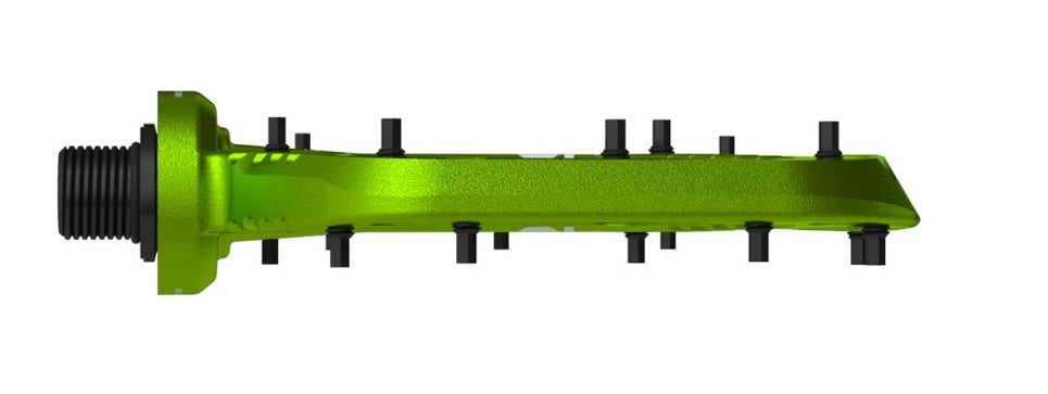 OneUp-Components-Alu-Flat-Pedal-Front-Green-966