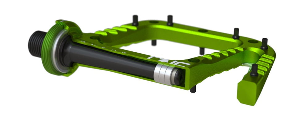 OneUp-Components-Alu-Flat-Pedal-Section-Green-966