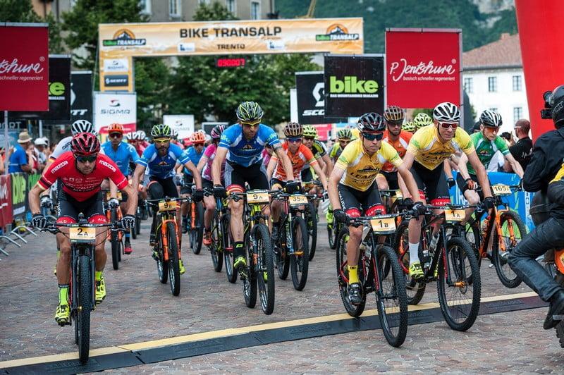 6. Etappe, Start Trento, Miha Matavz