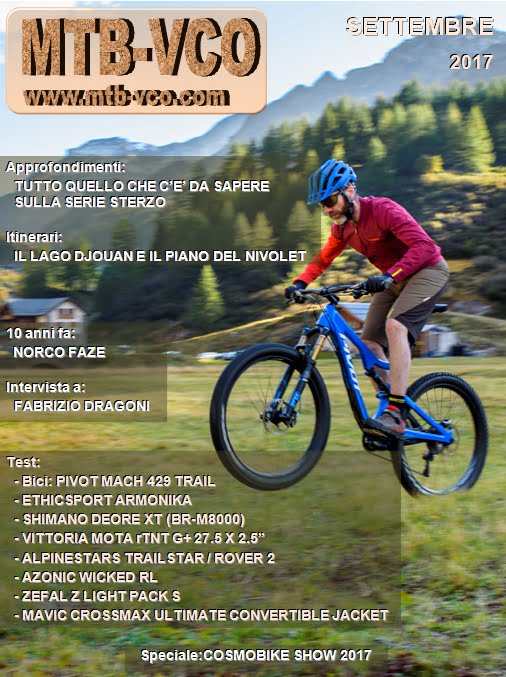 Settembre 2017 Mtb Vcocom Mountain Bike Web Magazine