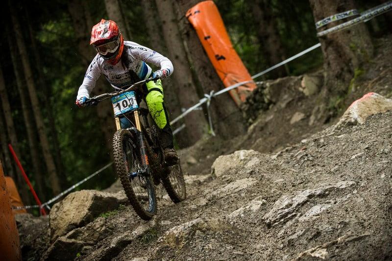 Eleonora Farina set the benchmark in the qualification
