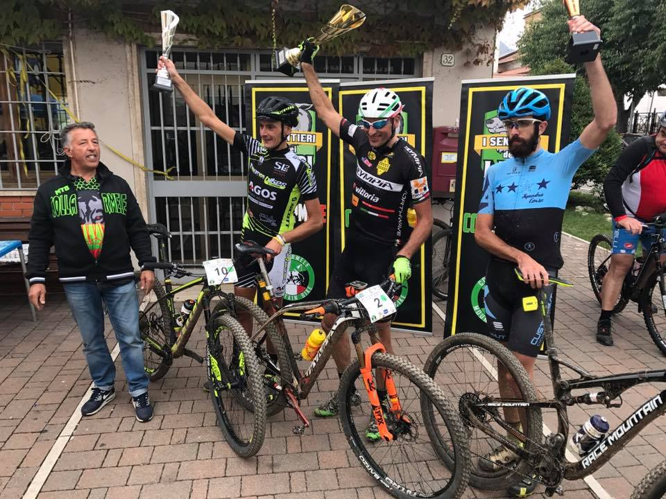 Granfondo I Sentieri dei Lupi 17092017 podio