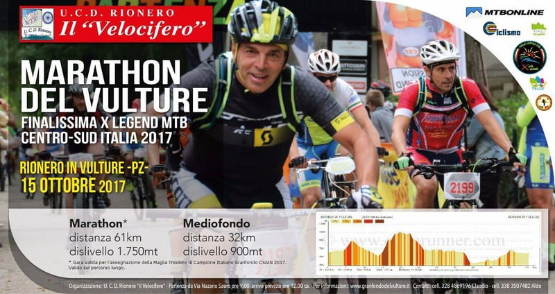 Marathon del Vulture 15102017 locandina