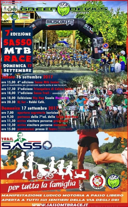 Volantino Sasso MTB Race