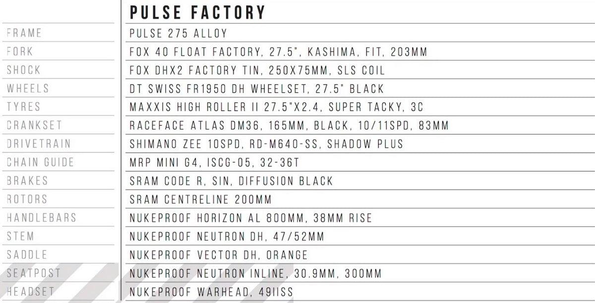 pulse-factory-spec